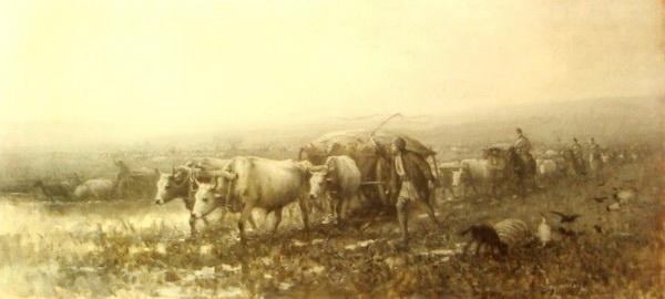 """""""Transport de provizii"""", Muzeul Municipiului București"""