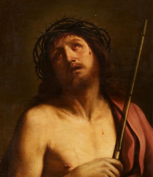 """Giovanni Francesco Barbieri, zis Il Guercino, """"Ecce Homo"""""""