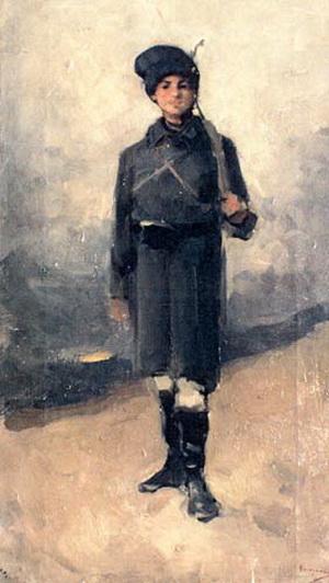 """Nicolae Grigorescu, """"Dorobanțul"""""""