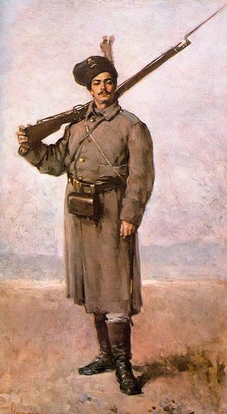 """Nicolae Grigorescu """"Santinela"""""""