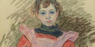 """Radu Comșa Guillaumin Armand, """"Portret de fetiță"""""""