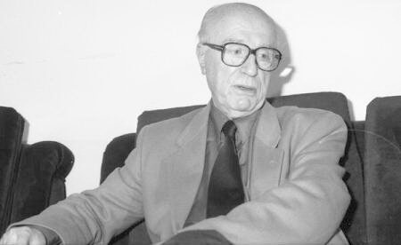 Virgil Ierunca. Foto Mihai Savu, Arhiva istorică Agerpresjpg