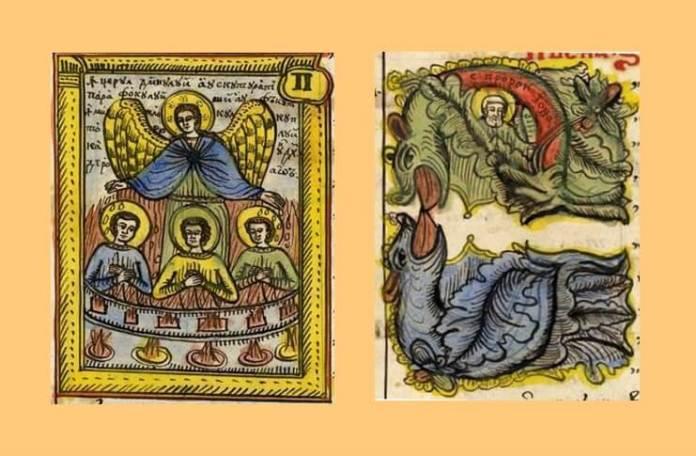 """Daniela Șontică Picu Pătruț, Miniaturi din """"Eclisiiârh"""" (1856)"""