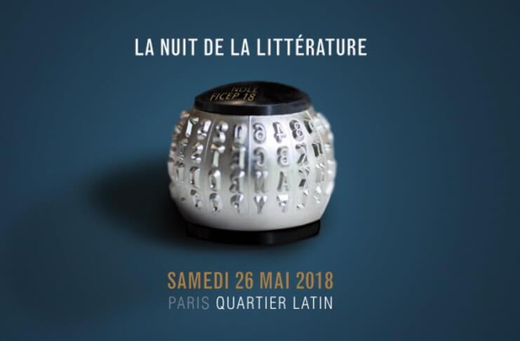 noaptea literaturii paris