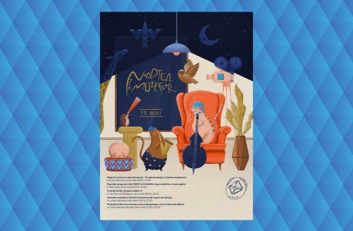 noaptea muzeelor muzeul taranului roman