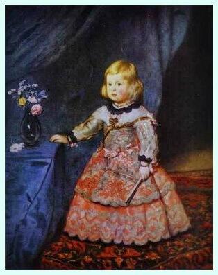 "Diego Velázquez, ""Infanta Margarita"""