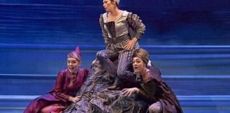 """Imagine din spectacolul """"Dido și Aeneas"""" de Henry Purcell, Opera Israeliană"""
