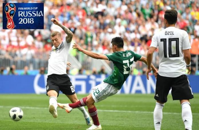 Lozano înscrie în meciul Germania – Mexic,.17 iunie 2018