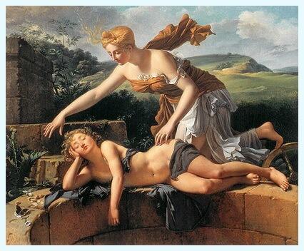 """Pierre Bouillon, """"Copilul și Soarta"""", 1801"""