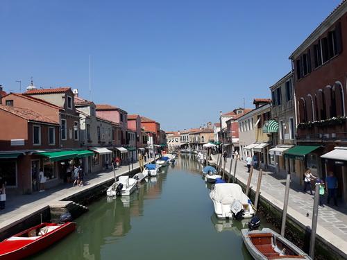 Strada de apă în Murano