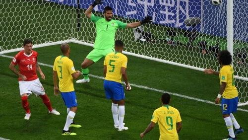 Zuber egalează în meciul Brazilia – Elveția,17 iunie 2018
