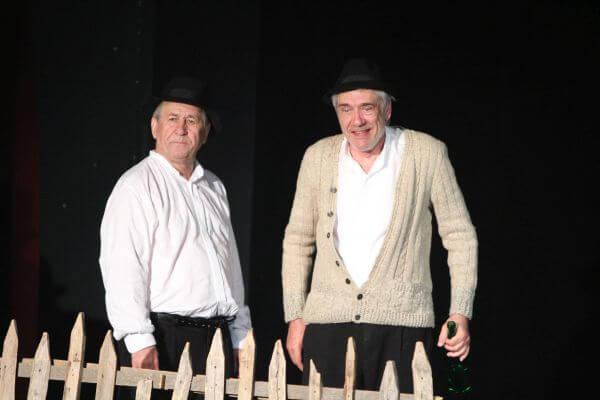 """George Mihăiță și Marcel Iureș în spectacolul """"Păi... despre ce vorbim noi aici, domnule?"""""""