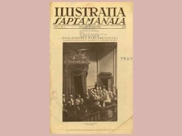 """""""Ilustraţia săptămânală"""", nr. 1, 10 noiembrie 1923, p. 1"""