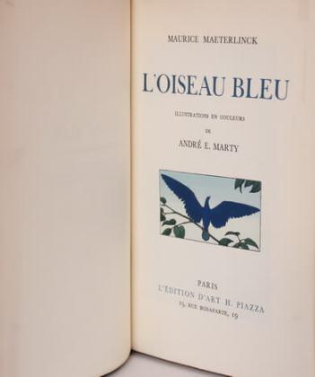 """""""Pasărea albastră"""", ediție 1945"""