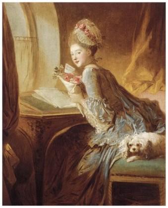 """""""Scrisoare de dragoste"""", 1770"""