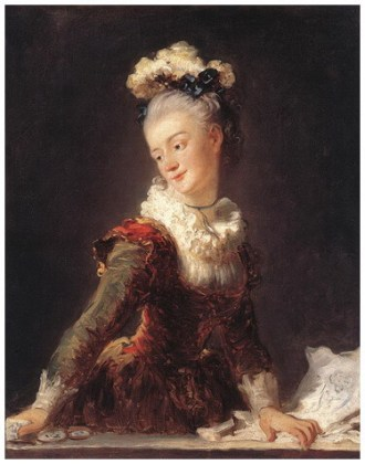 """""""Marie-Madeleine Guimard (portret fantezist)"""", 1769"""