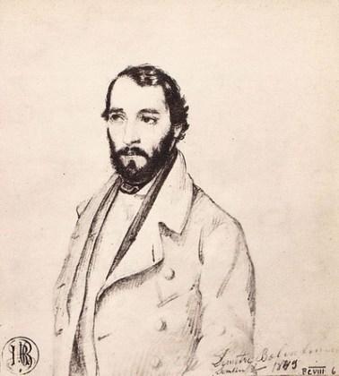 """Barbu Iscovescu, """"Portretul lui Dimitrie Bolintineanu"""""""