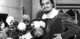 "Costin Tuchilă Nicolae Herlea în ""Don Carlos"" de Verdi, ""Metropolitan Opera, New York. Sursa pagina de facebook Nicolae Herlea"