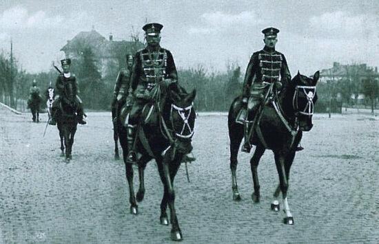 Feldmareşalul von Mackensen în București