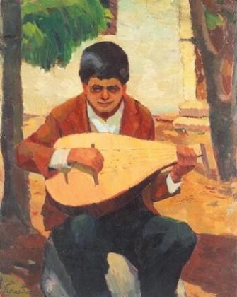 """Francisc Șirato, """"Cobzarul din Balcic"""""""
