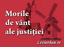 Morile de vânt ale justitiei De la arta cuvântului la confesiuni și opinii juridice prin ochiul cinic al unui avocat logo rubrica leviathan.ro