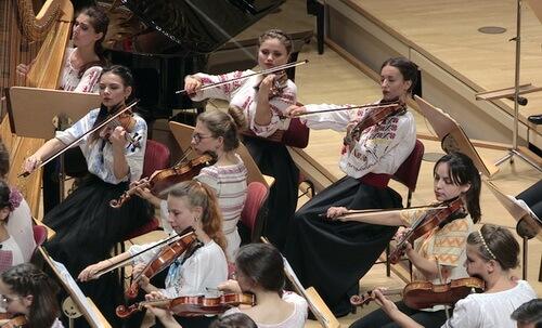 Orchestra de Tineret România-Moldova, Berlin, 2016. Foto Virgil Oprina