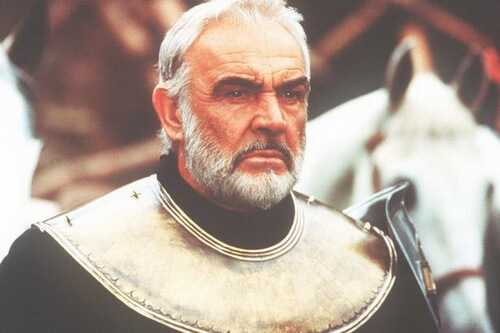 """Sean Connery in filmul """"First Knight"""" (1995)"""