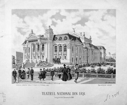 Teatrul Național din Iași, inaugurat la 1 decembrie 1896