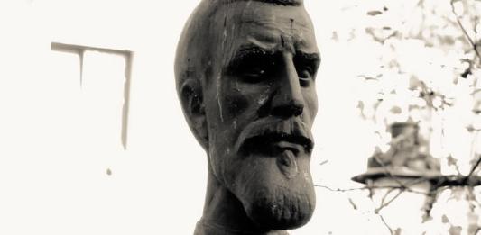 Timotei Cipariu, bust, Muzeul Astra Sibiu