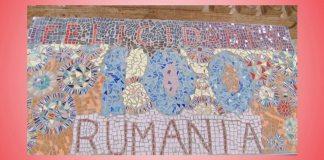 felicidades rumania mozaic