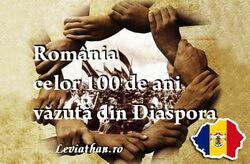 romania celor 100 de ani diaspora logo rubrica leviathan.ro