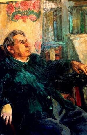 Alexandru Ciucurencu, Portretul lui G. Călinescu