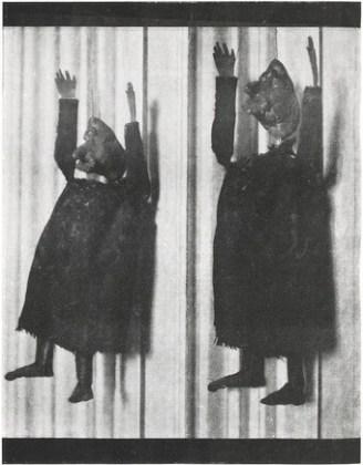 """Alfred Jarry, marionete originale pentru """"Ubu Rege"""" la premiera din 10 decembrie 1896"""