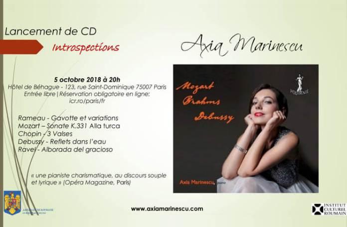 Axia Marinescu - Paris