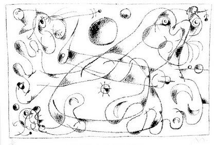"""Joan Miró, """"Ubu Roi"""", 1966"""