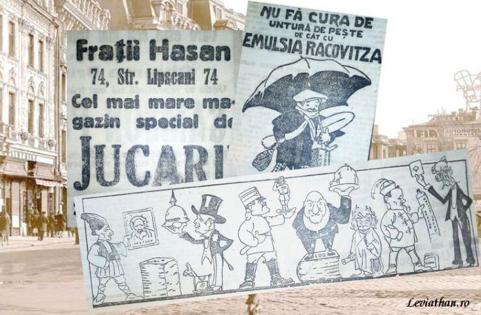 Mirela Nicolae presa interbelica reclame bucuresti
