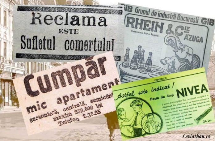 Mirela Nicolae ziare interbelice Universul publicitate