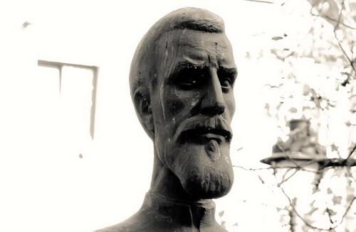 Timotei Cipariu, bust în Muzeul Astra Sibiu