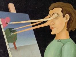 """Victor Brauner, """"Pictură după natură"""""""