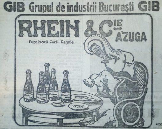 """Reclame din ziarul """"Universul"""", 1923"""