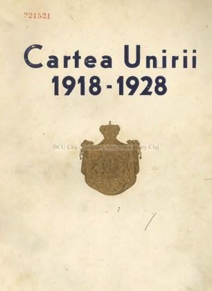Antologie de Cezar Petrescu, 1929. Deținător: BCU Cluj-Napoca