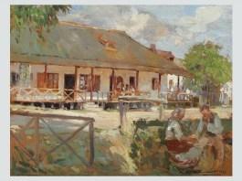 "Nicolae Vermont ,""Amiază la sat"""