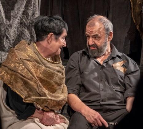 "Fotografii din spectacolul ""Hamlet"""