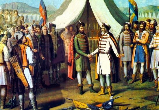 Întâlnirea dintre Bogdan cel Orb şi Radu cel Mare