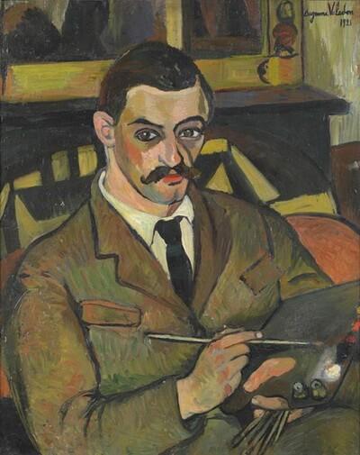 Maurice Utrillo, portret de Suzanne Valadon, 1921, Muzeul Utrillo-Valadon, Sannois
