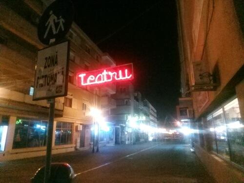 """Pietonaala Teatrului """"Toma Caragiu"""" Ploiesti"""