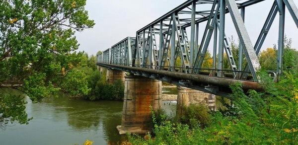 Podul de peste Prut, de la Ungheni, terminat în 1876