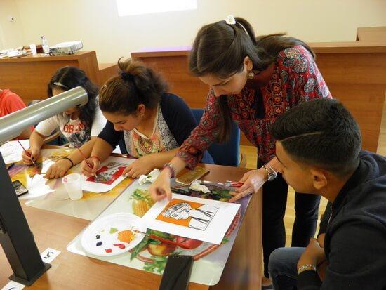 Atelier de creație organizat de ARC la Biblioteca Națională a României, 31 mai 2017