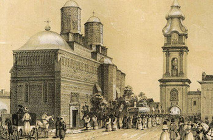 Mănăstirea Trei Ierarhi, Iași