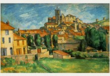 "Paul Cézanne, ""Gardanne"", 1885 – 1886, The Barnes Foundation, Merion, Pennsylvania"